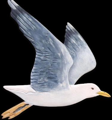 seagull cutout